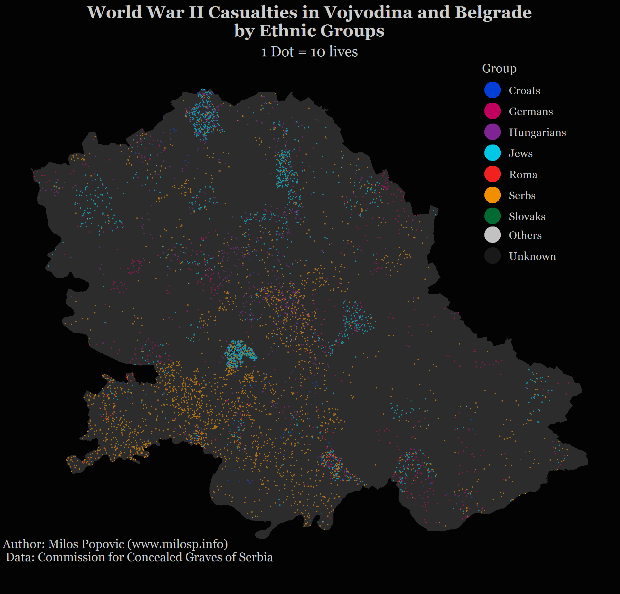 Ráfagas · Geospatial links everyday